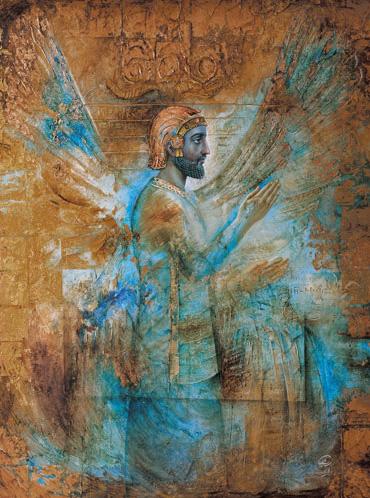 اثری زیبا از استاد حجت الله شکیبا