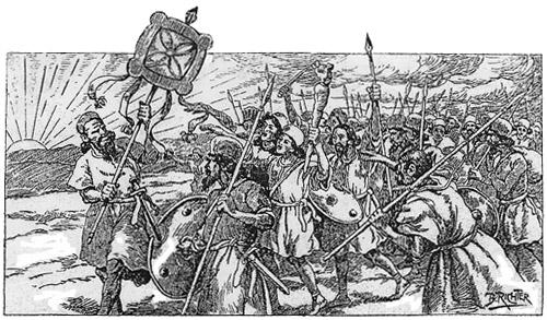 قیام کاوه و درفش کاویانی - ماهنامه کاوه (تهران 1285-1291)