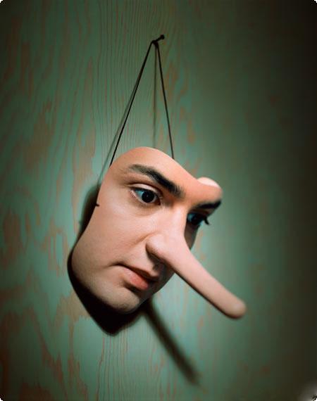 پاسخ به دروغ پردازی و اظهارات شنیع دزد فضای مجازی