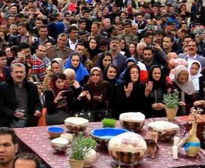 جشن مردمی نوروز در پاسارگاد - ۳۰ اسفند ۱۳۹۵