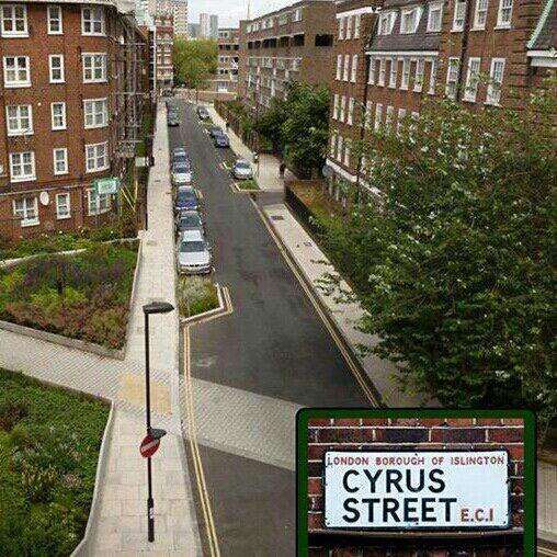 خیابان کوروش بزرگ در لندن