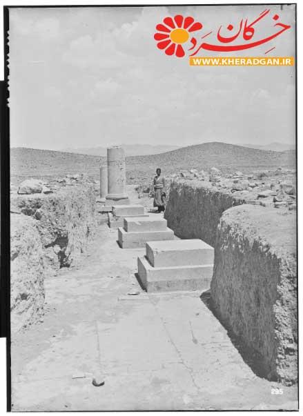 کاخ اختصاصی (کاخ P) عکس از هرتسفلد در بین سال های 1923 تا 1925