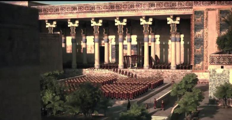 ارتش هخامنشی در برابر یونان