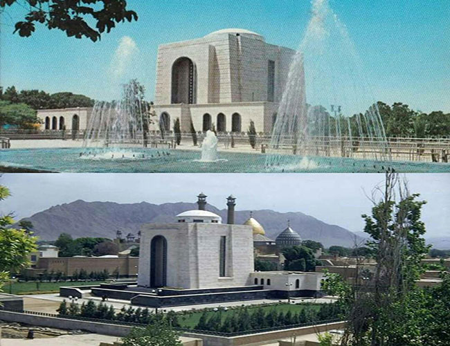 مقبره رضا شاه