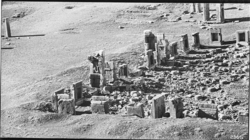 کاخ صد ستون | تخت جمشید ناتمام