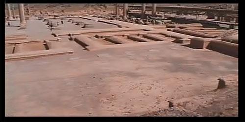 ایوان های کاخ آپادانا پارسه | تخت جمشید ناتمام