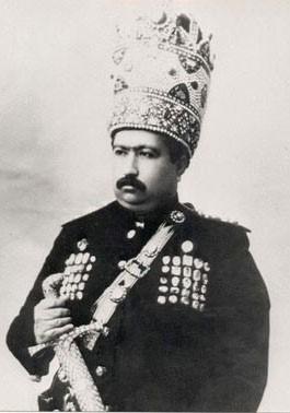 تاج گذاری محمدعلی شاه قاجار