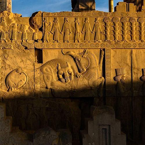 پیروزی شیر بر گاو، نماد ایرانی آغاز بهار
