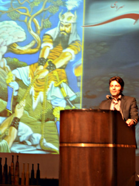 مجید خالقیان، دبیر وقت کانون ایران شناسی دانشگاه تهران