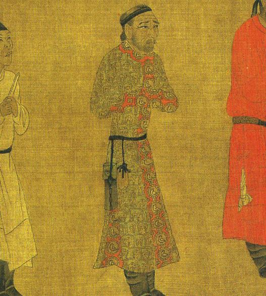 لباس ایرانی فرستاده تبتی