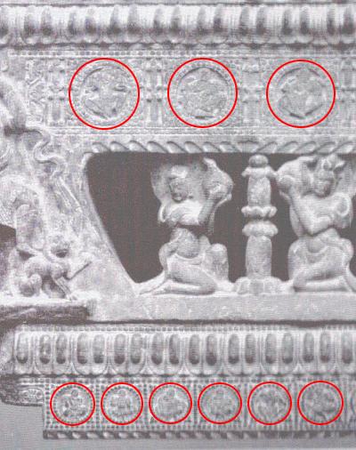 نقش ایرانی در معبد چینی